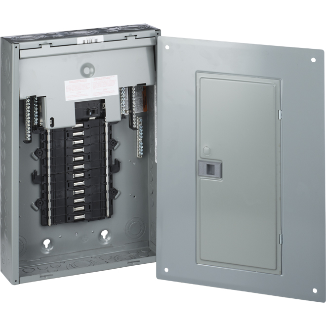 Electrical Panel with Main Breaker - 100A/24 - 240 V