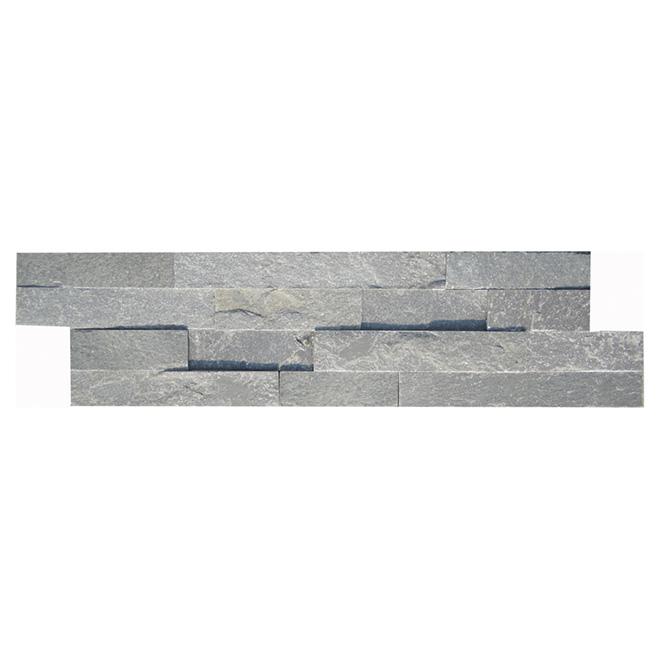 "Ledgestone Wall Slate - 6"" x 24"" - Grey"