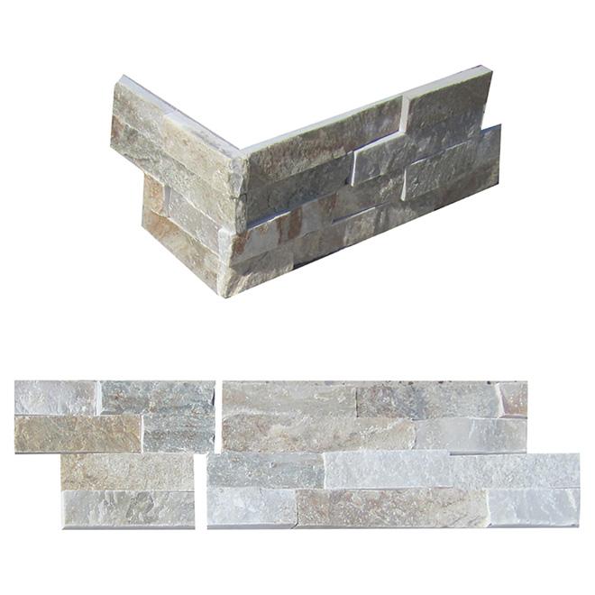 Ledgestone Corner Wall Slate - Natural Beige