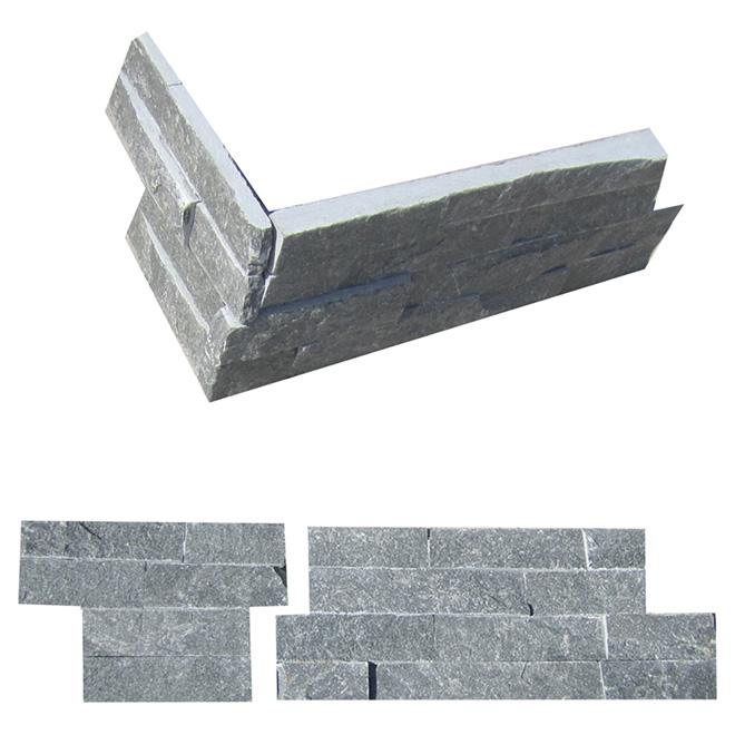 Ledgestone Corner Wall Slate - Grey