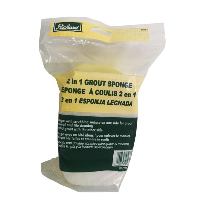 Laminated Grout Sponge - Yellow