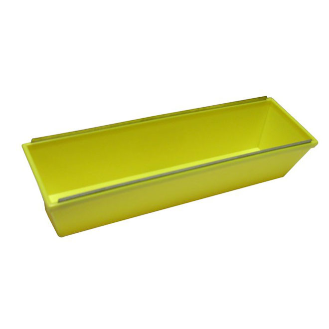 14'' Plastic Mud Pan with Metal Edges