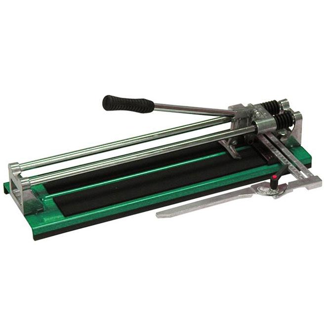 Richard Adjustable Square Tile Cutter 24 Professional Green 05645 Rona