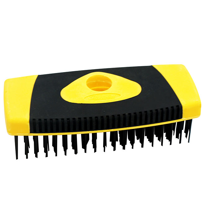 Block Wire Brush - Carbon Wire