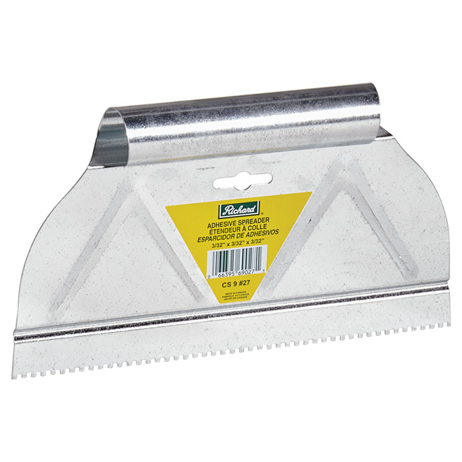Quot Square Notch Quot Adhesive Spreader 9 Quot Rona