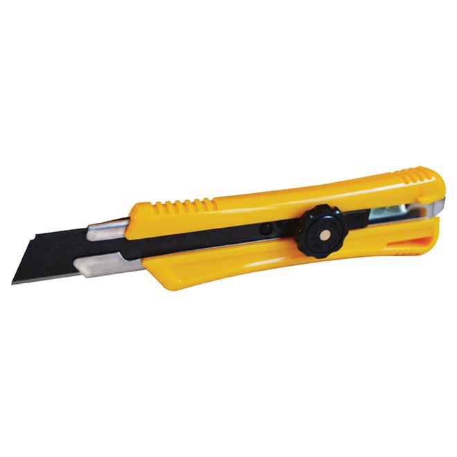 Heavy-Duty Snap-Off Utility Knife - 18 mm