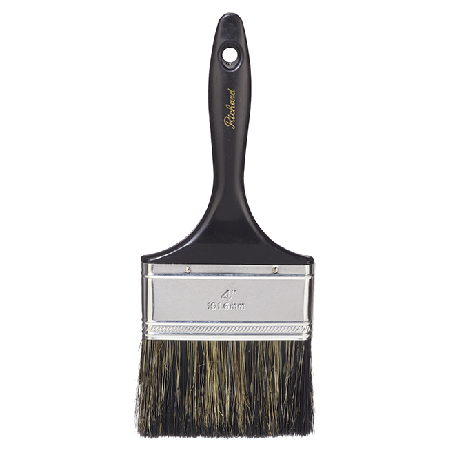 Straight Brush - Stain and Paint - Mixed Bristles - 4""