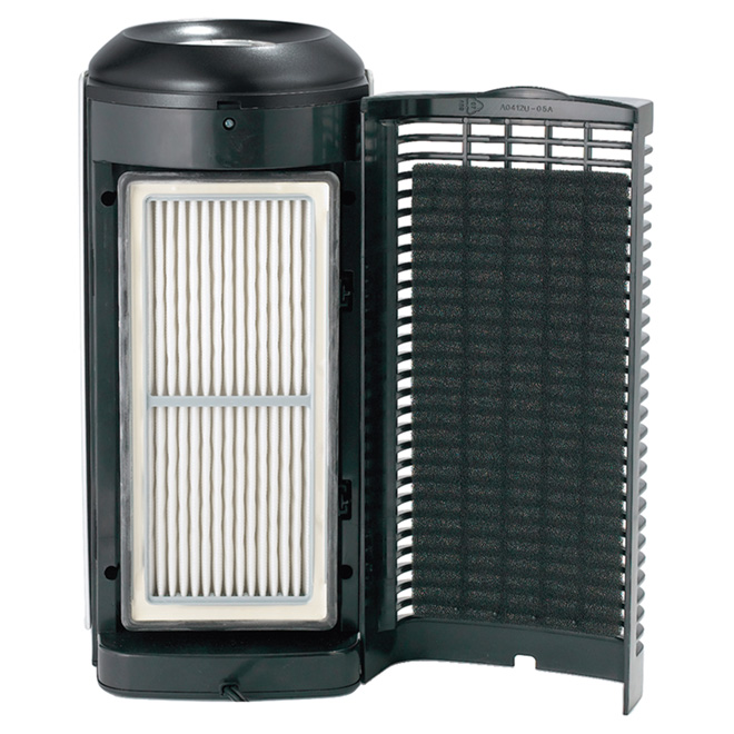 Air Purifier - Mini Tower Model - Grey/Black