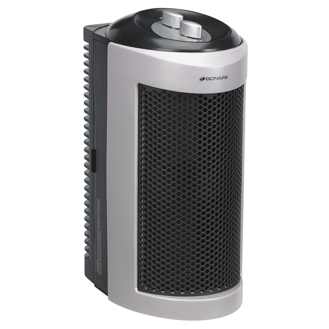 "Minitower Air Purifier with ""Claritin"" HEPA Filter"