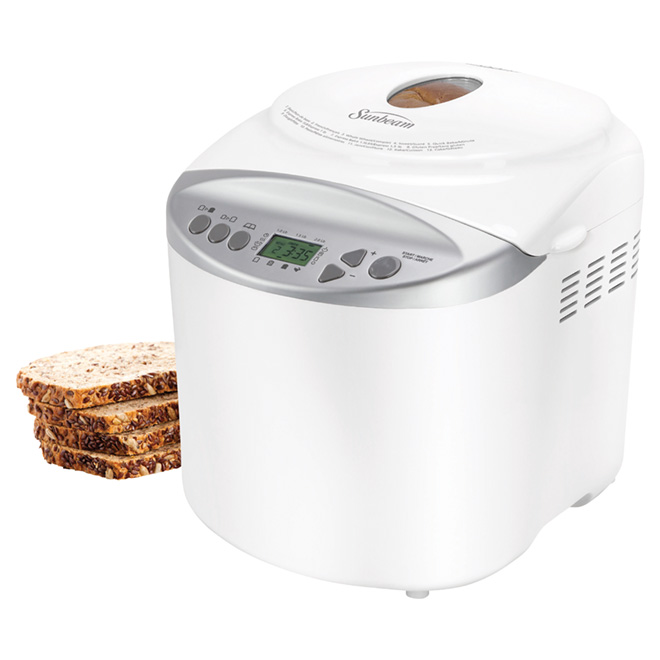 13-Setting Programmable Bread Maker - 2 lb Capacity