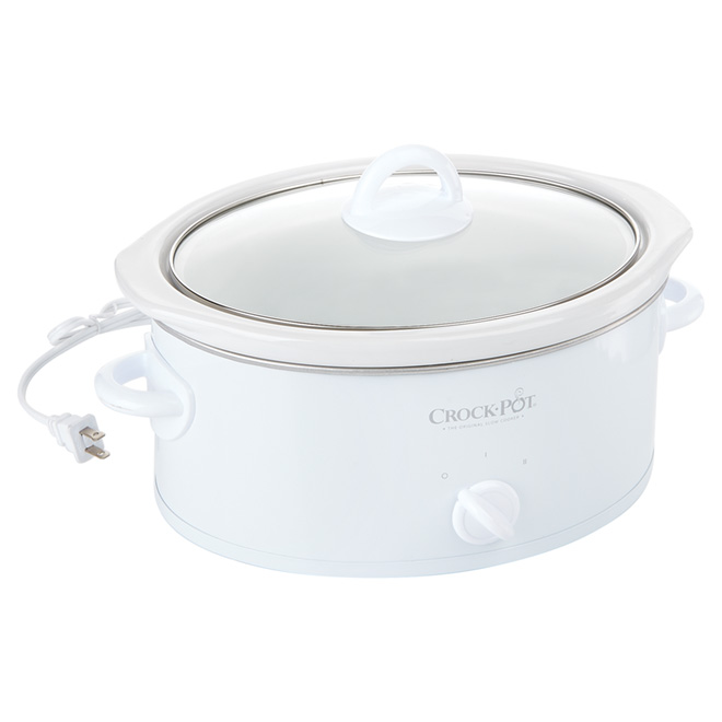 Slow Cooker - Crock-Pot  - 3Qt - White