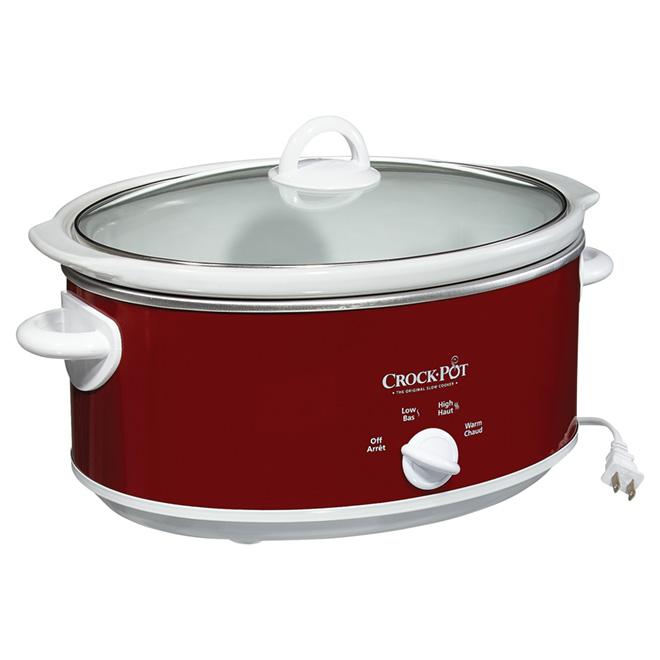 Slow Cooker - Crock-Pot - 7Qt - Red