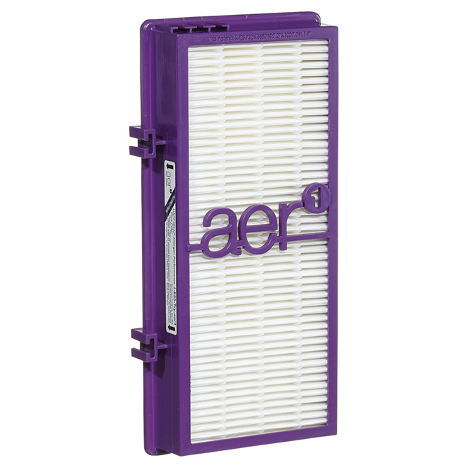 Hepa ''AER1'' Air Purifier Replace Filter - White/Purple
