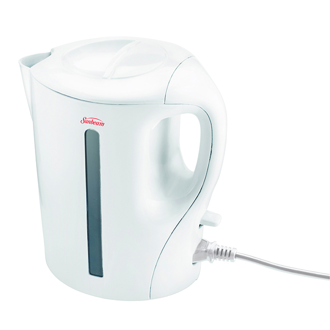 Detachable Cord Electric Kettle - White - 1.7L