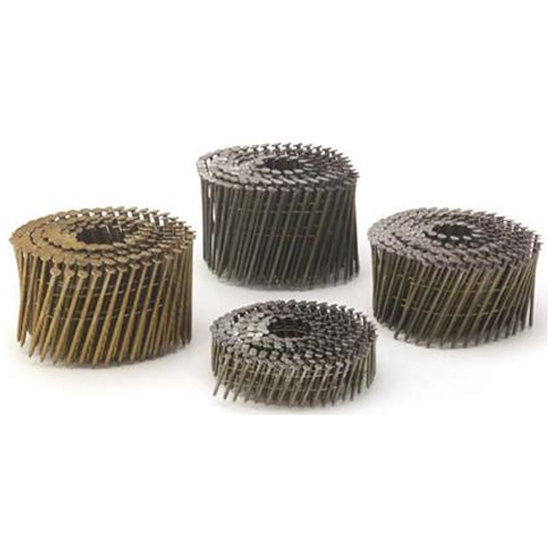 "Framing Nails - 15° Coil - Galvanized - Spiral - 2"""
