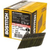 "Framing Nails - 28° Strip - Smooth - 2"" - 2000/Box"