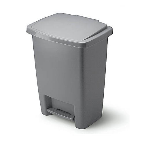 Plastic Trash Can with Pedal 31 L