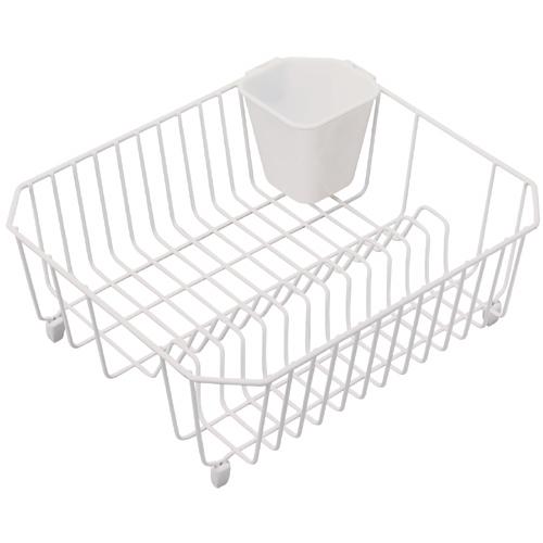 """Dish Drainer - 12"""" x 14"""" - White"""