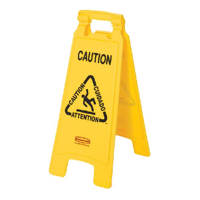 """Caution"" Floor Sign"