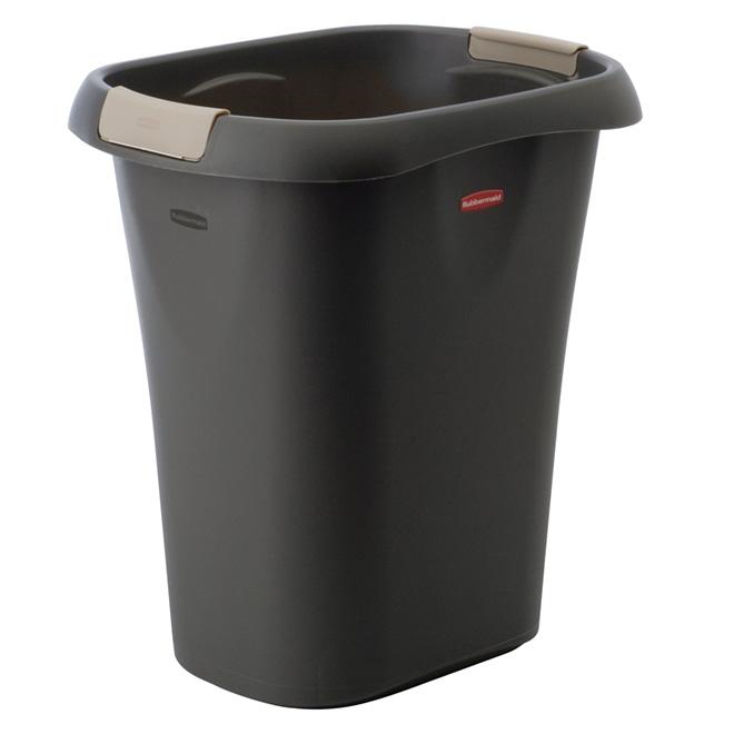 """Plastic Open Wastebasket """"Linerlocker"""" System 19.8 L"""