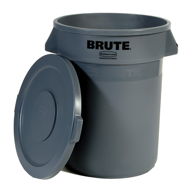 Garbage can with domed - 121L