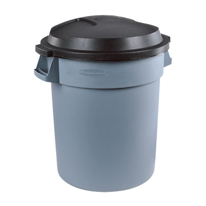 Roughneck Outdoor Garbage Can 77l Fg262157pewt Rona