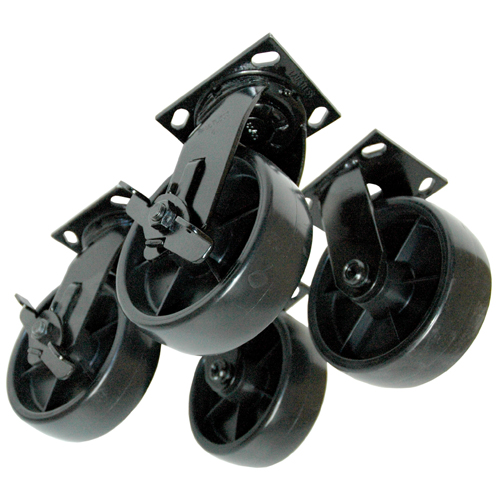 Job site box casters