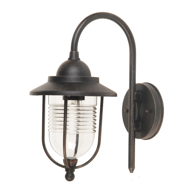 Outdoor wall lantern - Bronze