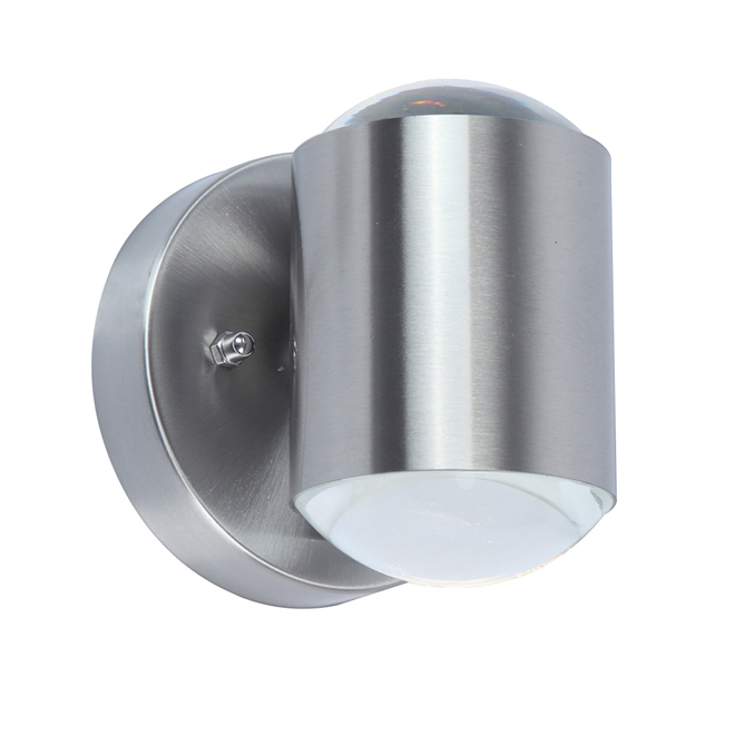 Modern Outdoor LED Wall Sconce - 11 W - Stainless Steel
