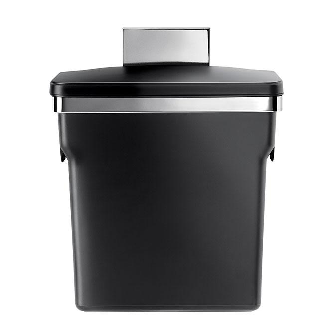 In-Cabinet Bin - Stainless Steel - 10 L - Chrome