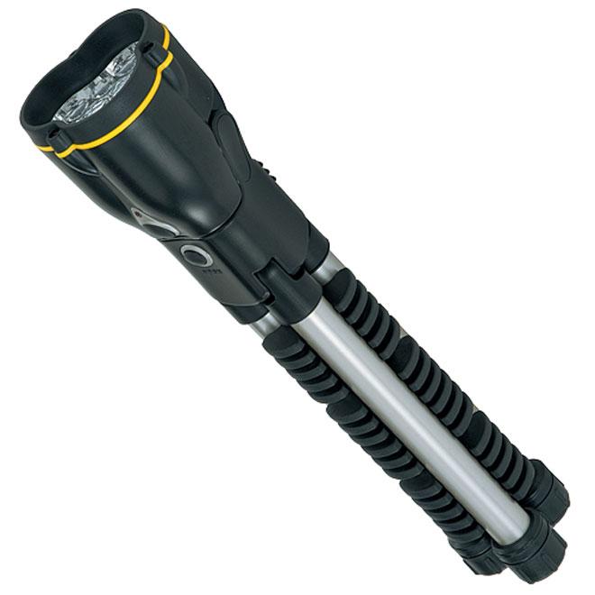 """MaxLight 369"" Minitripod Flashlight"