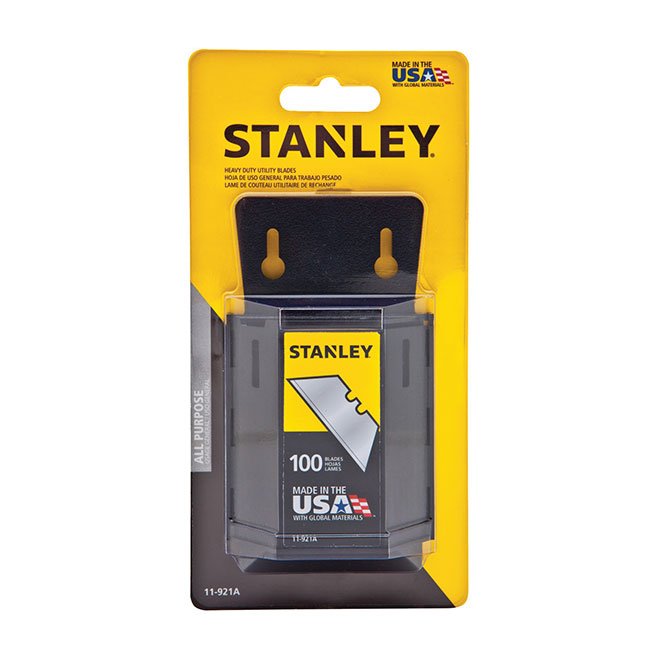 Heavy Duty Blades with Dispenser - 100/Pack