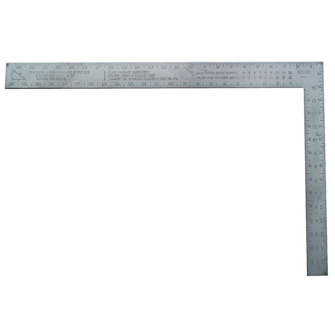 """Aluminum Carpenter's Square - 24"""""""