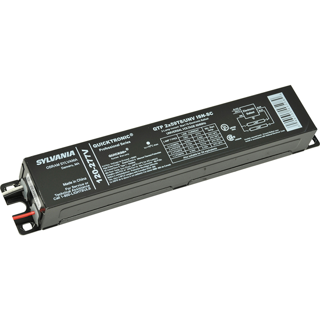 Electronic Ballast T8 - 2' - 59 W - 120/277 V