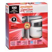 Ampoules fluorescentes compactes 23 W, T3, équi. 100 W, 2/pq