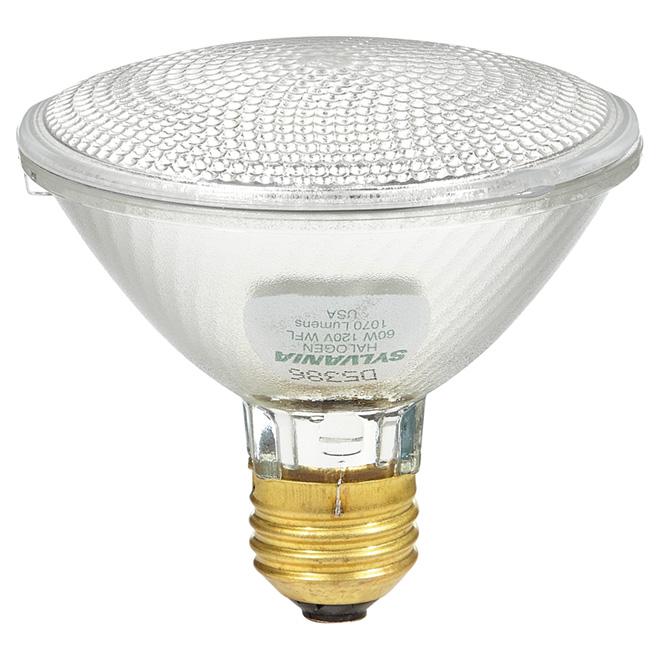 Halogen Reflector Bulb - Large Flood - PAR30/60 W