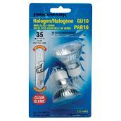 Ampoules PAR16 GU10 Halogène Claire, 120 V, paquet de 2