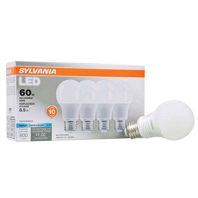 Bulb LED A19 E26 - No Dimmable - Daylight - PK1