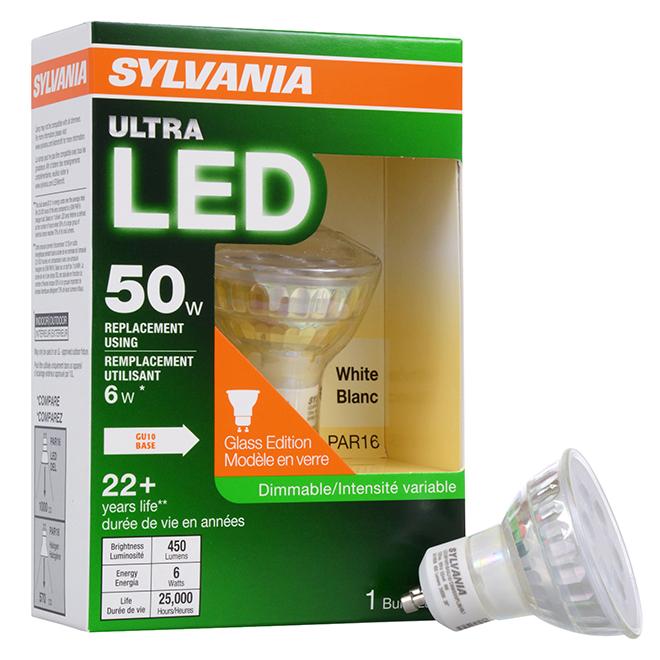 Bulb PAR16 E26 - Dimmable - White - PK1