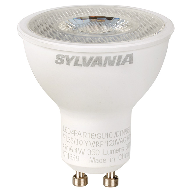 Reflector PAR16 GU10 - Dimmable - White - PK1