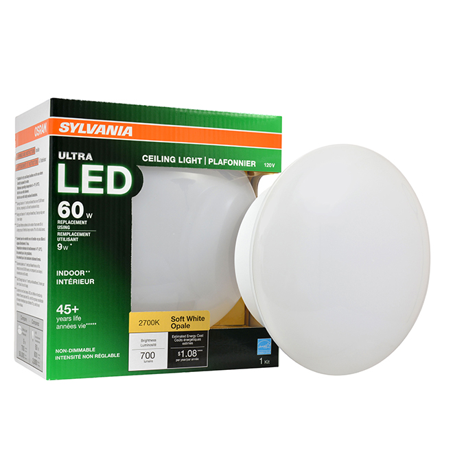 Bulb ronde Srew-in - No Dimmable - Soft White - PK1