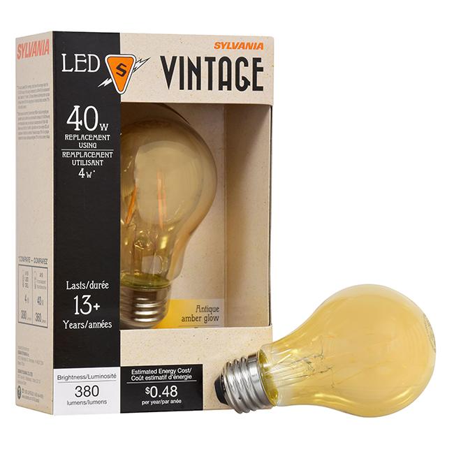 Bulb Ultra A19 E26 - No Dimmable - Amber - PK1