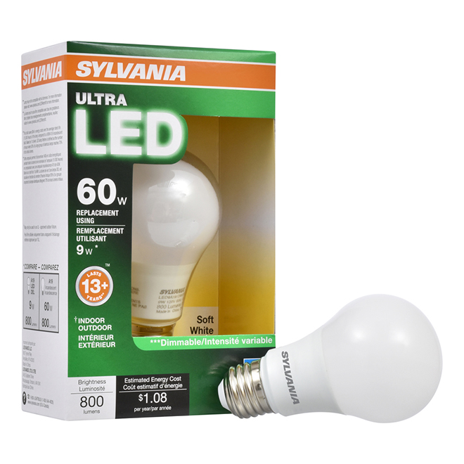 brand new bb1e9 2b95d Bulb Ultra A19 E26 - Dimmable - Soft White - PK1