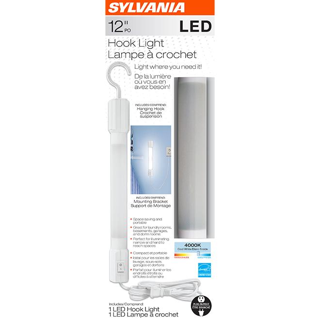 """LED Hook Light - 12"""" - Cool White"""