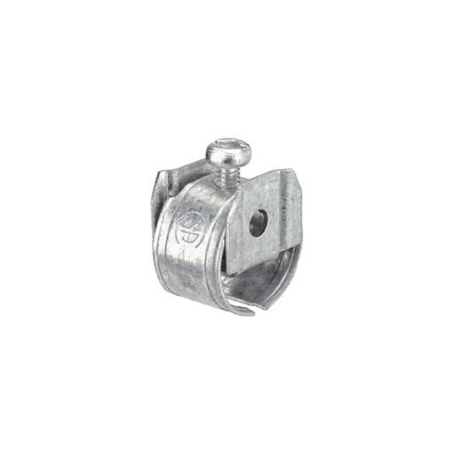 "Cable Connectors - 1 Screw - NMD90 - 3/8"" - 5/Pk"