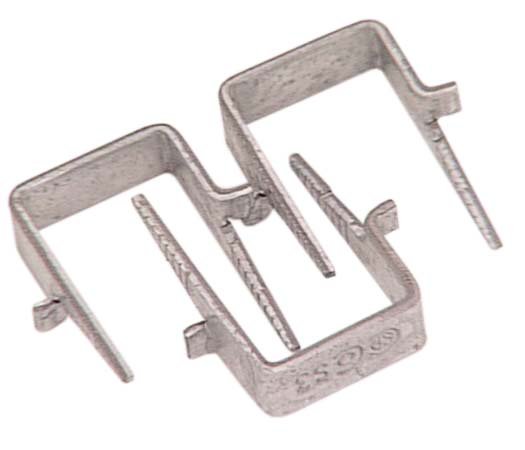 Cable Staple - Galvanized Steel - 0,70'' - 40/Pack