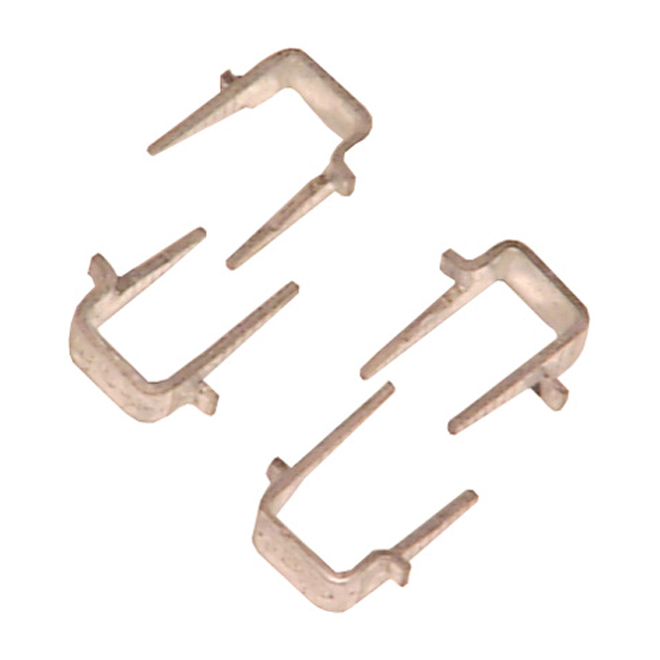 Staples for Cable - Galvanized Steel - Box of 50