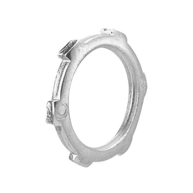 """Locknuts - Steel - Rigid - 1"""" - 5/Pk"""