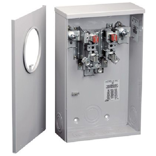 Meter Socket - Single - Underground - 200A - 600V