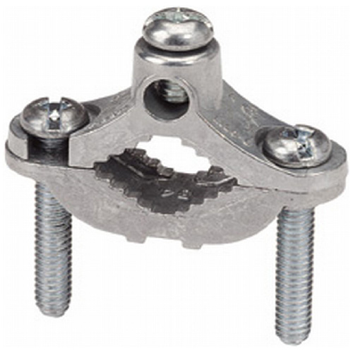 "Ground Rod Clamp - Steel - 1/2"" to 1"""